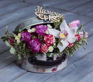 Дарья крылова цветы в коробках