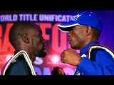 Terence Crawford - Julius Indongo Face Off