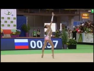 Полина Хонина - булавы (многоборье) // World Challange Cup 2017, Гвадалахара