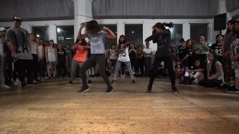 _BREAK A SWEAT_ - Becky G Dance _ @MattSteffanina Choreography (@iambeckyg DanceAndSweat)