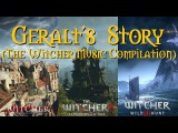 The Witcher 'Geralt's Story' (A Relaxing Music Compilation) (Witcher 1, 2 &amp 3)