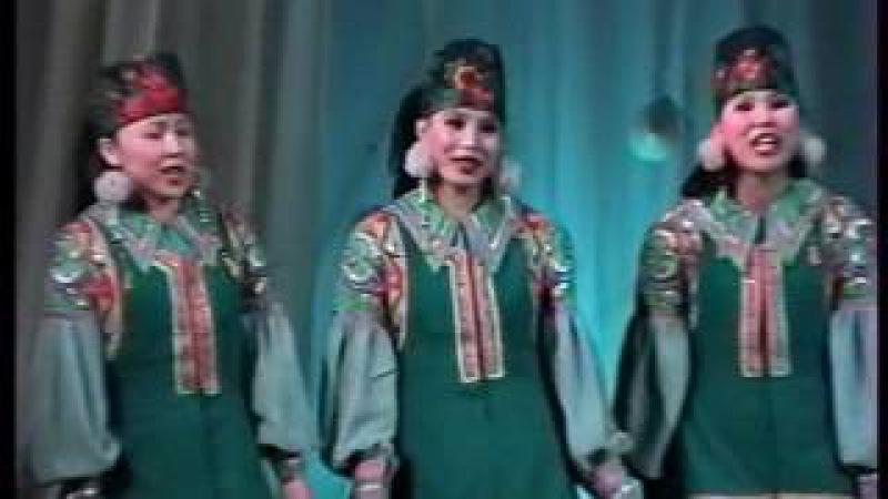 4 Хакасский народный ансамбль Жарки Кинохроника из прошлого хакасов