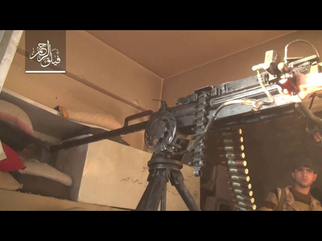 Rahman Corps - part of the violent clashes with Assad's forces in front Jobar neighborhood of Damascus