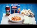 BARILLA SG - Penne with Chicken, Mushroom and Tomatoes