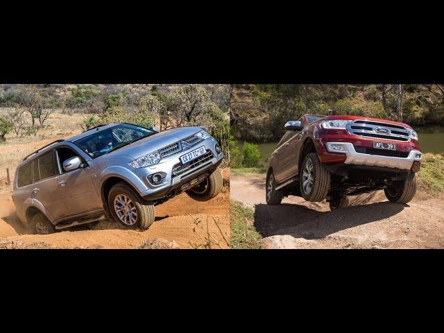 Mitsubishi Pajero vs Ford Everest Off Road Comparison