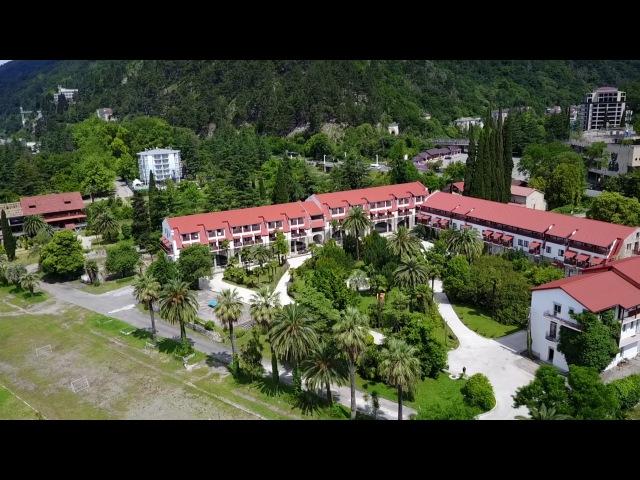 Абхазия с квадрокоптера! Невероятно красиво!