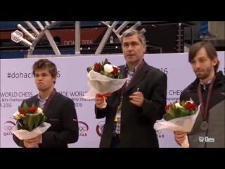 Vassily Ivanchuk Top Funny Moments (World Rapid & Blitz Chess Championship Ceremony)