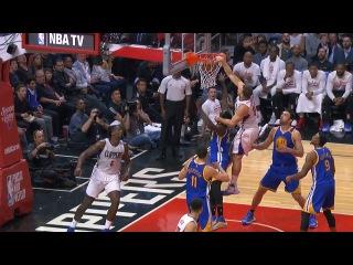 Blake Griffin Dunks Over Draymond Green | Warriors vs Clippers | Dec 7, 2016 | 2016-17 NBA Season