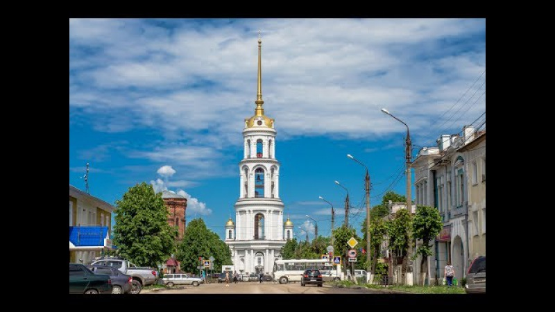 Воскресенский Собор город Шуя / Resurrection Cathedral in the city of Shuya