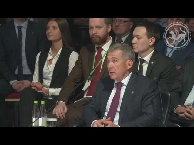 Приветствие Минниханова Р.Н. на расширенном заседании Совета по предпринимател ...