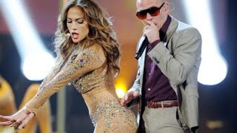 Jennifer Lopez - Papi On The Floor feat Pitbull America Music Awards
