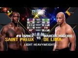 Ovince Saint Preux vs Marcos Rogerio de Lima UFC Fight Night 108 22.04.2017