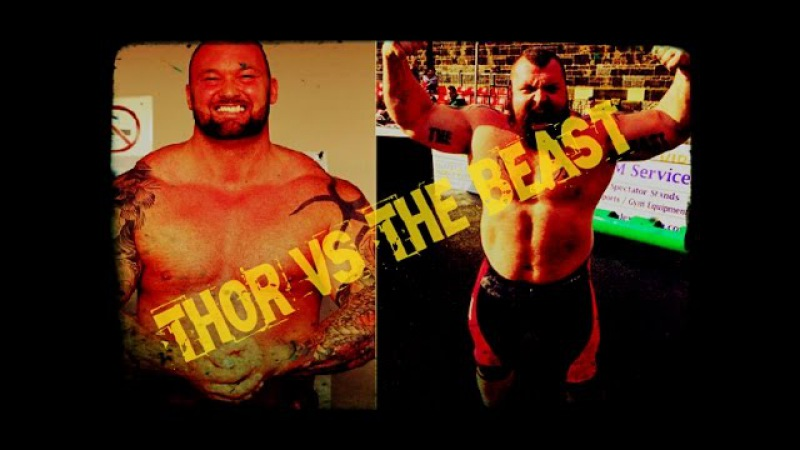 Eddie Hall vs Hafþór Björnsson - strongman motivation