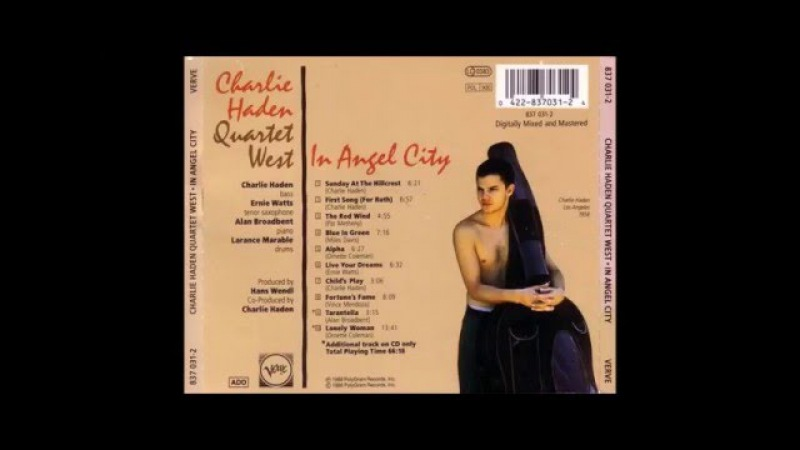 Charlie Haden Quartet West - The red wind (1988)