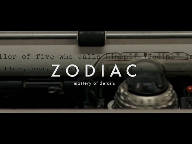 Zodiac — Mastery of Details | David Fincher Close-Ups