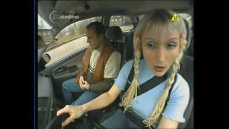 Nauka Jazdy - Blondynka