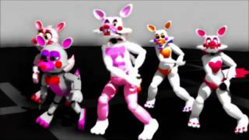 (MMD FNAF MANGLES FOXES) Die young.