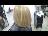 Вуальное мелирование. Рассветление общей массы волос. By Fama