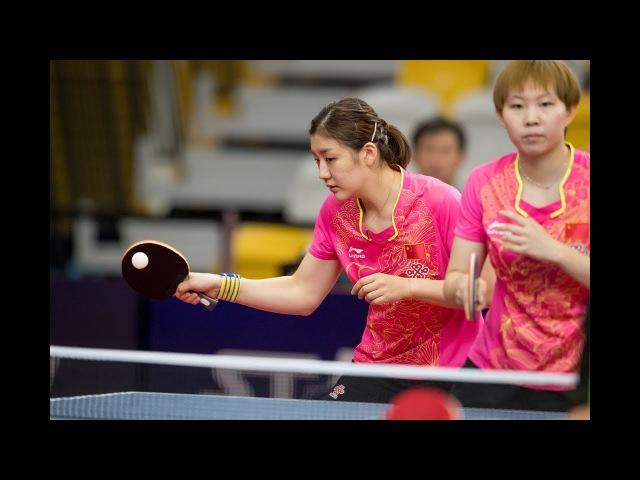 CHEN Meng /ZHU Yuling vs CHEN Xingtong /WANG Manyu | WD FINAL | Australian Open 2017