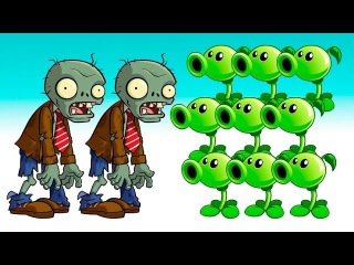 Plants vs Zombies Gameplay Multi Max XBOX ONE funny video games online for kids