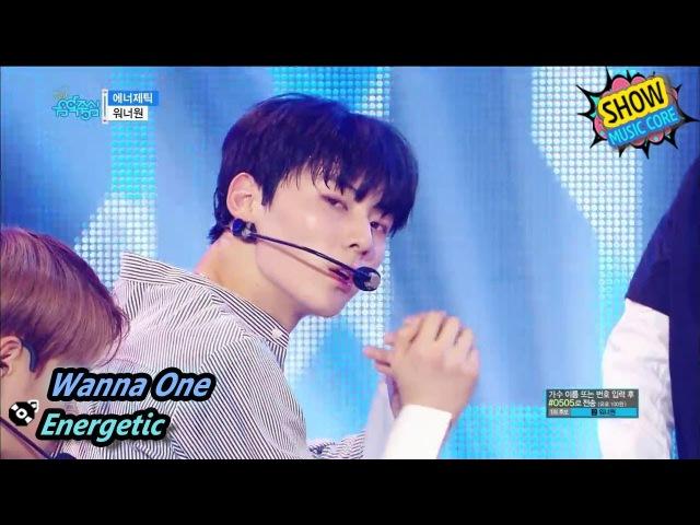 HOT Wanna One Energetic 워너원 에너제틱 Show Music core 20170826