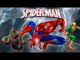 Человек паук стреляет паутиной в злодеев. Спайдермен против Гоблина. Игра Челов ...