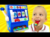 Bad Baby Детки Выиграли Конфетки Kids Won a Lot of Candy M&ampM's IRL (SKIT) Johny Johny Yes Papa