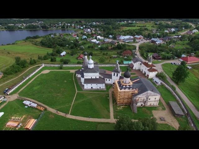 Ферапонтов монастырь с дрона Вологодская область