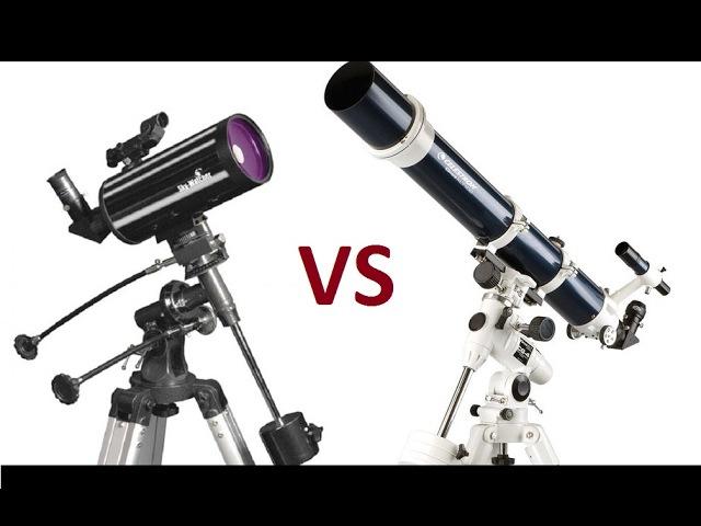 Рефрактор 102 vs Максутов 102