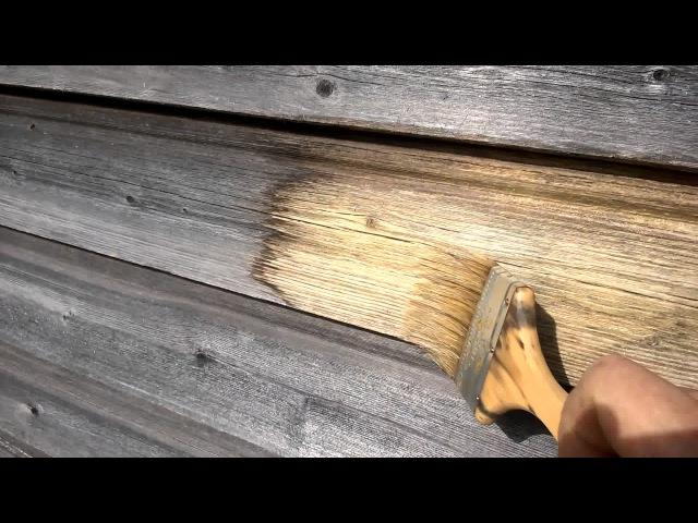 Как работает отбеливатель древесины