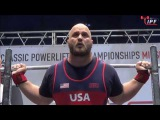 DENNIS CORNELIUS  2017 IPF RAW OPEN WORLD CHAMPIONSHIPS  (6252017)