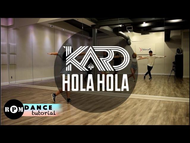 KARD Hola Hola Dance Tutorial (Chorus)