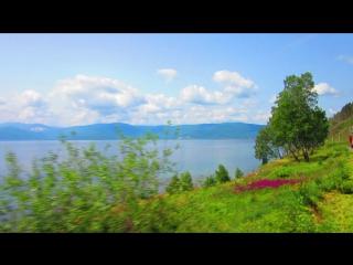 Озеро Байкал - Круглобайкальская железная дорога