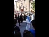 Праздник Пасхи в Сарагосе,площадь святой Пилар