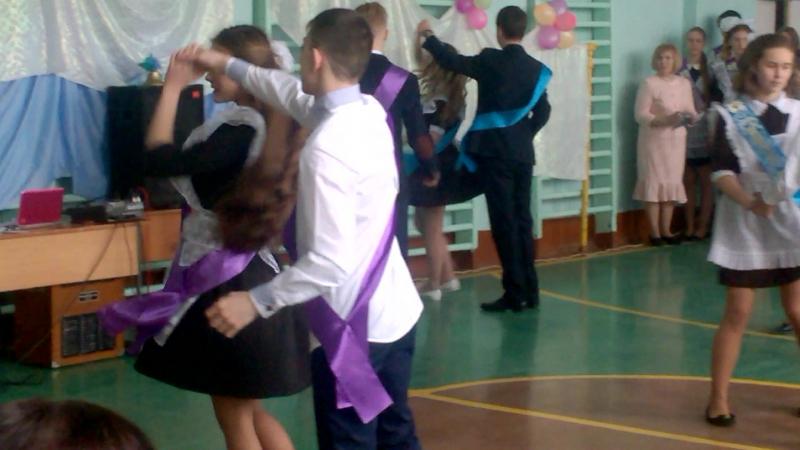 Вальс 9а Школы №1 Наш выпускной 24 05 2017