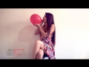 Sexy Twerking - [Fetish Clean Version Video] She is a Looner Girl Sit To Pop the Balloon