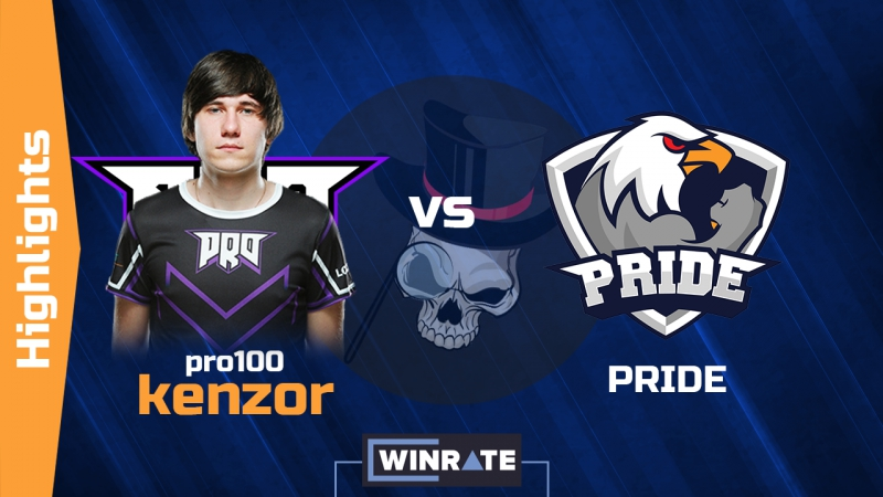 PRO100.kENZOR vs PRIDE | 4K