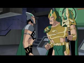 S1e06 - The Enemy Below Justice Leagues / Лига Справедливости - 6 серия, 1 сезон
