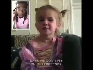 Omg this little girl is such a grown up with attitude. cant stop laughing!