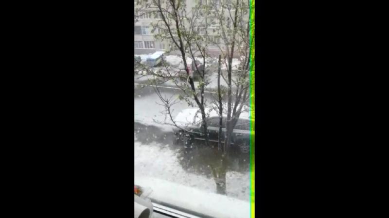 Надоело! 19.06.2917 - Снег!Снег!Снег!