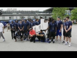 Colts Rookies at the Indianapolis Motor Speedway