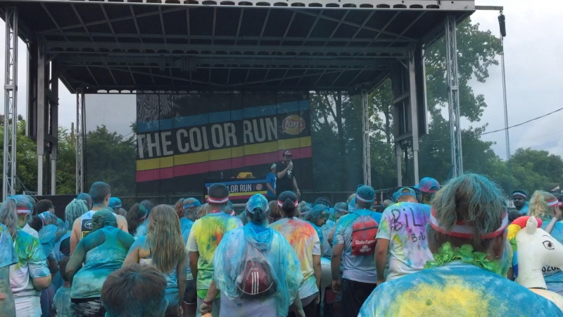 The color run 🌈