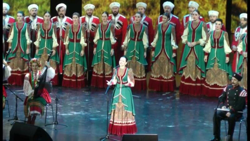Кубанский казачий хор Ой стога стога солистка Марина Гольченко