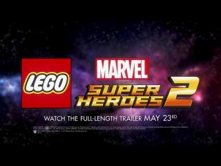 LEGO Marvel Super Heroes — Тизер