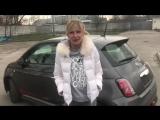 Fiat 500 Electric 2013(Электрический Вжик).Тест-драйв KoshkaUSSR and Forsage7