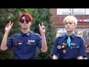 03 08 17 SSTV 엔플라잉 유회승·사무엘 Samuel '프듀2' 출신의 행복한 재회 '흥하자' 뮤직뱅크