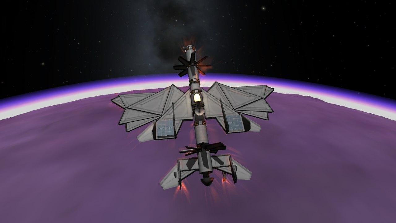 Бесконечнолёт EL-2. Аэроплан с электротурбинами в KSP 1.2 и 1.1