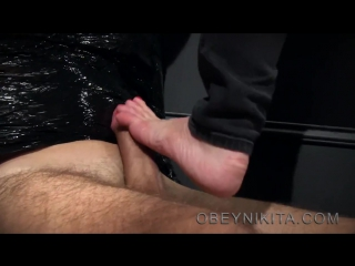 Mistress Nikita Footjob / Foot Worship / Foot Licking / Foot Fetish