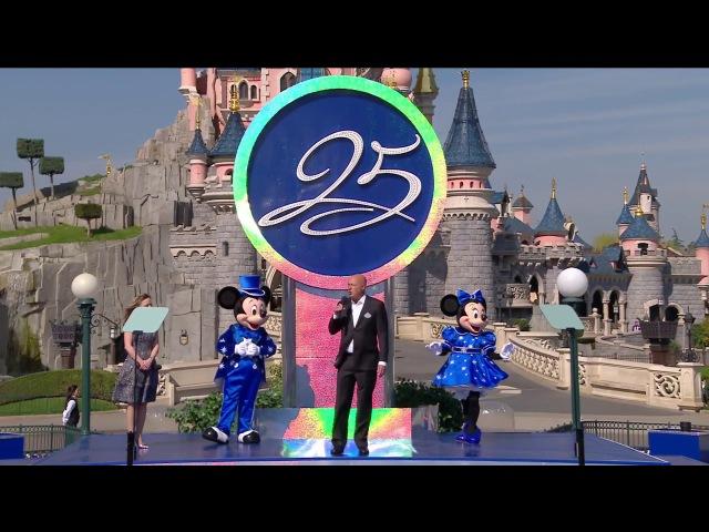 [REPLAY] Cérémonie de lancement du 25e Anniversaire de Disneyland Paris