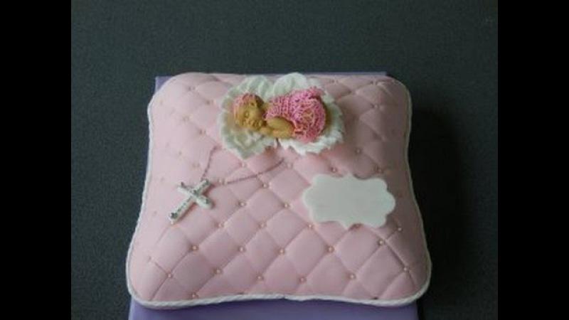 3 д торт Подушка /3 D Torte Kissen/крылья ангела из мастики